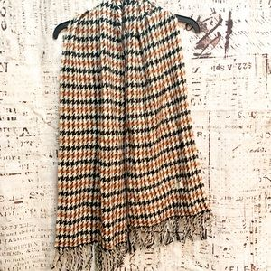 The North Face Houndstooth Fringe Scarf Fall